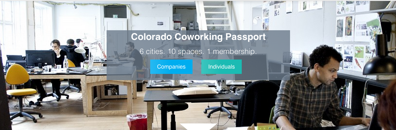 Colorado creates the first state-wide coworking membership.